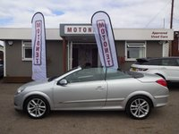 USED 2006 06 VAUXHALL ASTRA 1.8 TWIN TOP  CONVERTIBLE SPORT 3DR 140 BHP ++++BUY NOW PAY NEXT JANUARY 2019++