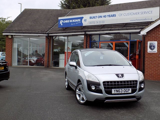 USED 2013 63 PEUGEOT 3008 2.0 ALLURE HDI FAP 5dr (150)  ** Pan Roof + Bluetooth + Cruise **