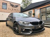 2016 BMW 4 SERIES 3.0 430D XDRIVE M SPORT GRAN COUPE 4d 255 BHP £23690.00