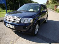 2011 LAND ROVER FREELANDER 2.2 SD4 HSE 5d AUTO 190 BHP £12495.00