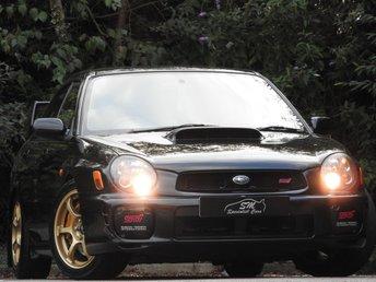 2002 SUBARU IMPREZA 2.0 WRX-STI TYPE UK 4d 265 BHP £8495.00