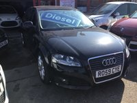 USED 2009 59 AUDI A3 1.9 TDI E SPORT 5d 103 BHP A3 diesel, leather, low road tax, alloys, superb.