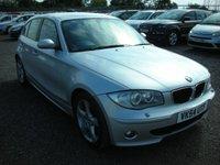 2004 BMW 1 SERIES 2.0 118D SE 5d 121 BHP £SOLD