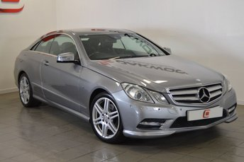 2011 MERCEDES-BENZ E CLASS 2.1 E250 CDI [NAV] BLUEEFFICIENCY SPORT ED125 2d 204 BHP £10995.00