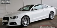 USED 2013 63 AUDI A5 1.8 TFSi S-LINE BLACK EDITION COUPE 6-SPEED 168 BHP