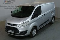 USED 2017 67 FORD TRANSIT CUSTOM 2.0 290 TREND LR P/V 5d 129 BHP LWB L2 H1 EURO 6 VAN ONE OWNER EURO 6 ENGINE