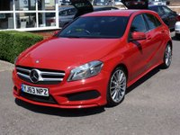 USED 2013 63 MERCEDES-BENZ A CLASS 1.8 A200 CDI BLUEEFFICIENCY AMG SPORT  MERCEDES - BENZ A200 AMG SPORT AUTO 53k £30 RFL SAT NAV READY REVERSING CAMERA