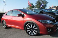 2015 HONDA CIVIC 1.3 I-VTEC SE PLUS NAVI 5d 98 BHP £10000.00