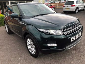 2013 LAND ROVER RANGE ROVER EVOQUE 2.2 SD4 Pure 5dr [Tech Pack] £19995.00