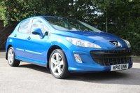 2010 PEUGEOT 308 1.6 SPORT HDI 5d 108 BHP £2850.00