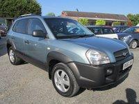 2006 HYUNDAI TUCSON 2.0 GSI DRTD 4WD 5d 138 BHP £2995.00