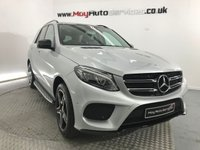 USED 2016 16 MERCEDES-BENZ GLE-CLASS 2.1 GLE 250 D 4MATIC AMG LINE PREMIUM 5d AUTO 201 BHP *** 360 PARKING AID CAMERAS ***