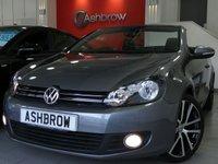 2012 VOLKSWAGEN GOLF CABRIOLET 1.4 TSI GT 2d 160 BHP £9481.00
