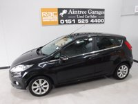 USED 2009 59 FORD FIESTA 1.2 ZETEC 5d 81 BHP A NICE LOOKING CAR, BLACK, HAS THE LUXURIES MODERN CARS NEED