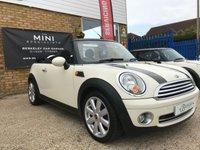USED 2010 10 MINI CONVERTIBLE 1.6 COOPER 2d 122 BHP WE SPECIALISE IN MINI'S!!!!!!