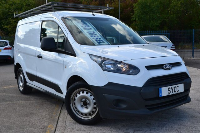 USED 2015 15 FORD TRANSIT CONNECT 1.6 200 P/V 5d 95 BHP ** FULL LENGTH ROOF RACK*** FULL LENGTH ROOF RACK ~ FULL SERVICE HISTORY ~ 1 COMPANY OWNER