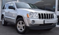 USED 2008 08 JEEP GRAND CHEROKEE 3.0 V6 CRD LIMITED 5d AUTO 215 BHP 4X4