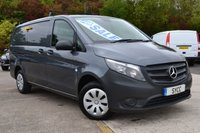 USED 2015 65 MERCEDES-BENZ VITO 1.6 111 CDI LONG 6d 115 BHP *** AIR CON ~ CRUISE ~ ROOF BARS *** AIR CON ~ SECURITY LOCKS ~ ROOF BARS ~ 1 OWNER