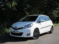 2012 TOYOTA YARIS 1.3 VVT-I TREND 5d 98 BHP £5695.00