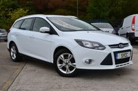 2014 FORD FOCUS 1.6 ZETEC TDCI 5d 113 BHP *** £20 ROAD TAX *** £5999.00