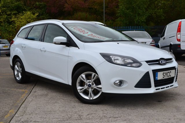 USED 2014 14 FORD FOCUS 1.6 ZETEC TDCI 5d 113 BHP *** £20 ROAD TAX *** £20 ROAD TAX ~ 6 MONTHS WARRANTY ~ 6 MONTHS BREAKDOWN COVER