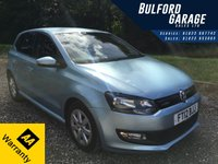 2012 VOLKSWAGEN POLO 1.2 BLUEMOTION TDI 5d 74 BHP £5975.00