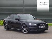 2014 AUDI A4 2.0 TDI S LINE BLACK EDITION 4d 148 BHP £13995.00