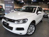 2013 VOLKSWAGEN TOUAREG 3.0 V6 SE TDI BLUEMOTION TECHNOLOGY 5d AUTO 242 BHP £13990.00
