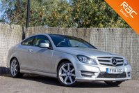 USED 2014 14 MERCEDES-BENZ C CLASS 1.6 C180 AMG SPORT EDITION PREMIUM PLUS 2d AUTO 154 BHP £0 DEPOSIT BUY NOW PAY LATER - NAV - REVERSE CAM - PAN ROOF