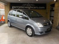 USED 2006 VAUXHALL MERIVA 1.4 CLUB 16V TWINPORT 5d 90 BHP Good Family Runabout
