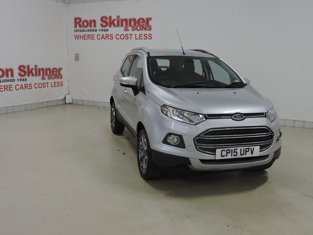 View our 2015 15 FORD ECOSPORT (70) 1.5 TITANIUM TDCI 5d 88 BHP