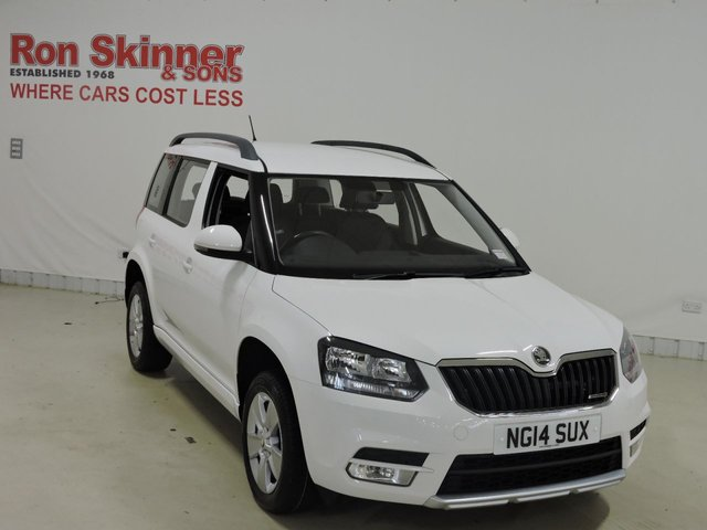 View our 2014 14 SKODA YETI 1.6 S GREENLINE II TDI CR 5d 103 BHP