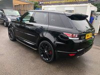 USED 2014 LAND ROVER RANGE ROVER SPORT 3.0 SDV6 HSE DYNAMIC, AUTO 288 BHP, PAN ROOF, FULL HISTORY, COMMAND SHIFT, 22