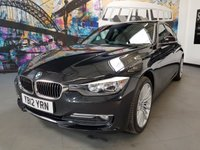 USED 2012 12 BMW 3 SERIES 2.0 320D LUXURY 4d 184 BHP