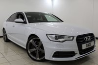 USED 2014 64 AUDI A6 3.0 BiTDI QUATTRO S LINE BLACK EDITION 4DR AUTOMATIC 313 BHP SAT NAV Bluetooth 1 Owner  SERVICE HISTORY + HEATED LEATHER SEATS + SAT NAVIGATION + BLUETOOTH + PARKING SENSOR + CRUISE CONTROL + MULTI FUNCTION WHEEL + CLIMATE CONTROL + 20 INCH ALLOY WHEELS