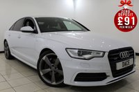 USED 2014 64 AUDI A6 3.0 BiTDI QUATTRO S LINE BLACK EDITION 4DR AUTOMATIC 313 BHP SAT NAV Bluetooth 1 Owner  SERVICE HISTORY + HEATED LEATHER SEATS + SATELLITE NAVIGATION + BOSE SOUND SYSTEM + TECHNOLOGY PACKAGE + BLACK STYLING PACKAGE + PIANO BLACK INLAYS + PRIVACY GLASS + BLUETOOTH + PARKING SENSOR + CRUISE CONTROL + MULTI FUNCTION WHEEL + CLIMATE CONTROL + 20 INCH ALLOY WHEELS