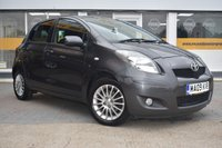 USED 2009 09 TOYOTA YARIS 1.3 SR VVT-I 5d 99 BHP NO DEPOSIT FINANCE AVAILABLE