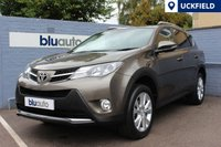 USED 2014 63 TOYOTA RAV-4 2.2 D-4D INVINCIBLE 5d 150 BHP Full Toyota History, Satellite Navigation, Full Leather, Heated Seats, Dual Climate Control, Cruise Control, Bluetooth, I-Pod
