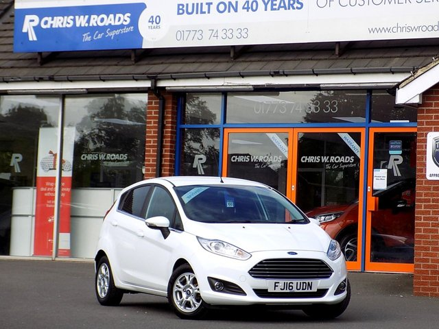 USED 2016 16 FORD FIESTA 1.5 TITANIUM ECONETIC TDCI 5dr ** ZERO ROAD TAX + Full History **
