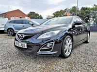 2011 MAZDA 6 2.2 D SPORT 5d 180 BHP £4000.00