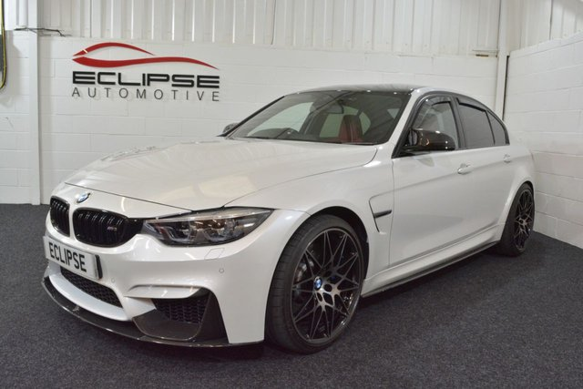 2017 BMW M3 3.0 M3 COMPETITION PACKAGE 4d AUTO 444 BHP