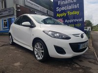 USED 2011 61 MAZDA 2 1.3 TAMURA 5d 83 BHP, 2 owners, only 26000 miles ***GREAT FINANCE DEALS AVAILABLE***