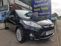 USED 2012 12 FORD FIESTA 1.4 TITANIUM 5d 96 BHP,2 owners, only 36000 miles ***GREAT FINANCE DEALS AVAILABLE***