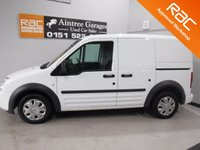 USED 2012 62 FORD TRANSIT CONNECT 1.8 T200 TREND LR VDPF 1d 109 BHP Specification Includes;GLEAMING METALLIC WHITE ONE OWNER  FULL FORD SERVICE HISTORY, IMMACULATE BODY WORK, ELEC WINDOWS, ARM REST, REMOTE CENTRAL LOCKING, CD PLAYER, BULK HEAD, CARGO LINING, POWER ASSISTED STEERING, TOW BAR, WILL COME FULL SERVICED READY FOR WORK GREAT VAN for more Information Please Call Now on 0151525 4400,  07967141248. Family Run Business Since 1990
