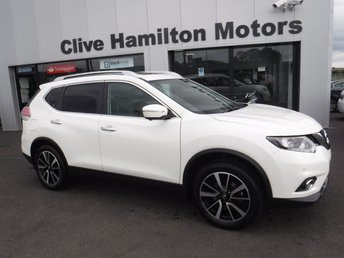2017 NISSAN X-TRAIL 1.6 N-VISION DCI 5d 130 BHP 4WD7 SEATS & SUNROOF £17950.00