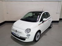 USED 2011 61 FIAT 500 0.9 LOUNGE 3d 85 BHP 1 Owner/ Service History/ Bluetooth/ Pan Roof/ £30 Tax