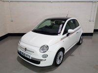 2011 FIAT 500 0.9 LOUNGE 3d 85 BHP £4677.00