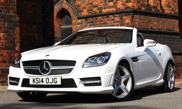 2014 14 MERCEDES-BENZ SLK 2.1 SLK250 CDI BLUEEFFICIENCY AMG SPORT 2d AUTO 204 BHP