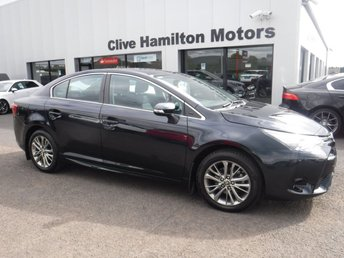 2018 TOYOTA AVENSIS 1.6 D-4D BUSINESS EDITION 4d 110 BHP SAT NAV & CAMERA £14400.00