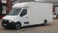 2015 VAUXHALL MOVANO 2.3 F3500 L3H1 P/C CDTI 1d 123 BHP LOW BODY LUTON 1 OWNER 2 KEYS  FREE 12 MONTHS WARRANTY COVER  £10490.00